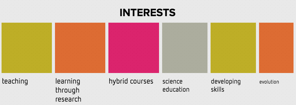 interests info